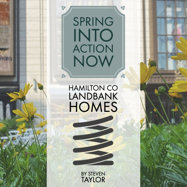 Spring into Action Now with Hamilton County Landbank Homes