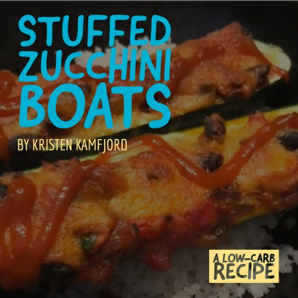 Stuffed Zucchini Boats – a Low-Carb Meal