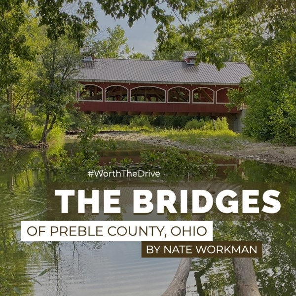 Visiting the Bridges of Preble County, Ohio