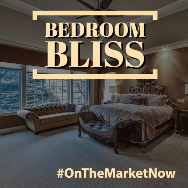 #OnTheMarketNow: 5 Blissful Bedrooms