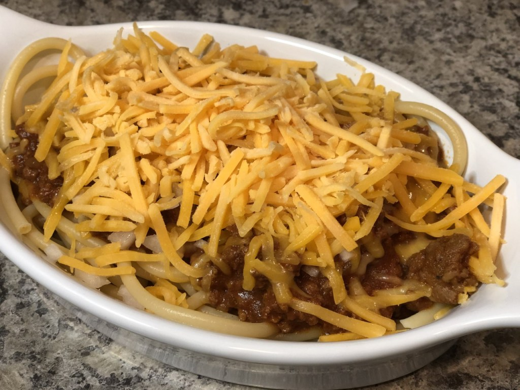 Cincinnati 3 way chili recipe by Jean Raga Sibcy Cline Northeast