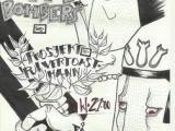 Distress, Projekt Pulvertoastmann, Suicide Bombers, barrikaden, punk, hardcore