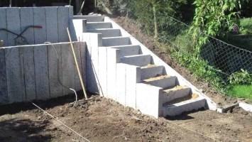 Einzigartig 40 Gartentreppe Bauen Blockstufen Ideen ...