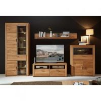 Massivholz Wohnwände Online Kaufen Pharao24™ von Wohnwand 220 Cm Breit Photo  Haus Design Ideen