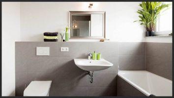 Statt Fliesen Im Bad   Haus Design Ideen