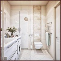 Stilvolle Kleines Bad Fliesen Bis Zur Decke Badezimmer Badezimmer von Badezimmer Klein Modern ...