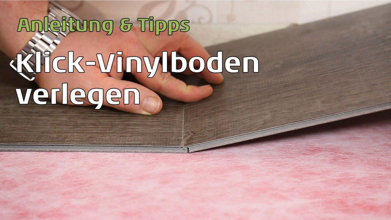 Klick Vinyl Auf Fliesen Legen