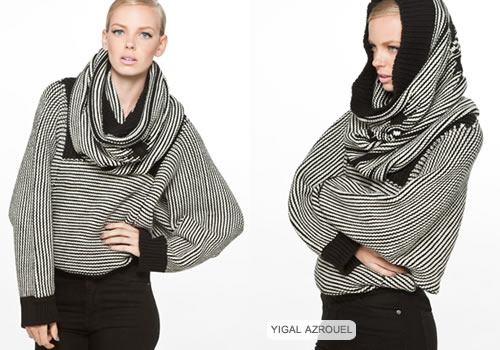 Yigal Azrouel Navajo turtleneck sweater