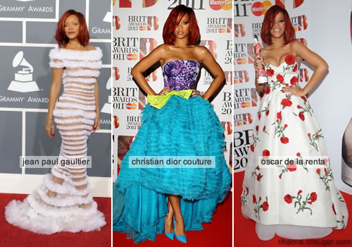 Rihanna's best red carpet looks of 2011