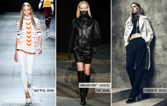 A few of Alexander Wang's designs