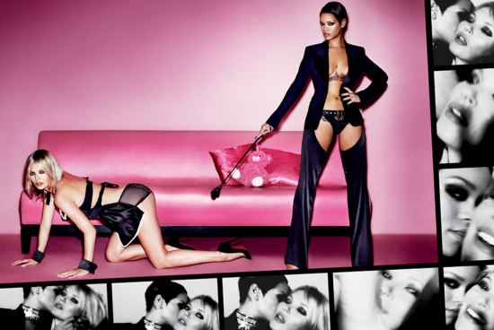 Rihanna and Kate Moss in V Magazine