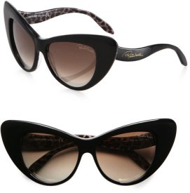 Roberto Cavalli cat-eye sunglasses