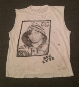 Vintage MC Lyte Ruff Neck t-shirt from Chapel NYC