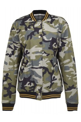 Rihanna for River Island camouflage bomber jacket