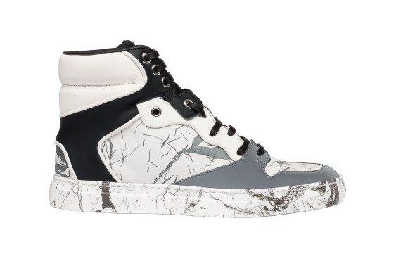Balenciaga Multimatieres marble effect sneakers