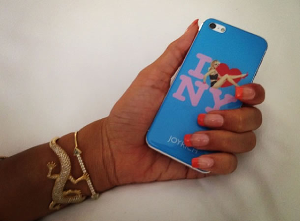 Rihanna's Joyrich I love NY iphone case