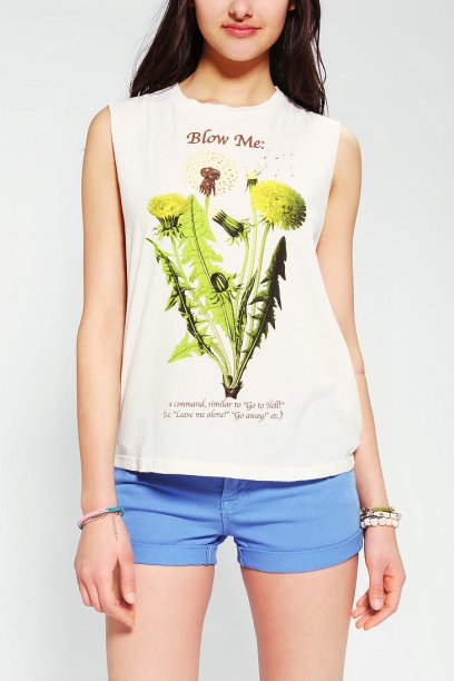Truly Madly Deeply Blow Me muscle tee
