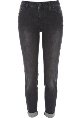 Rihanna for River Island black wash skinny jeans