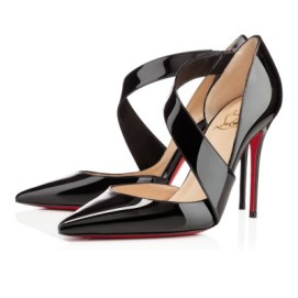 Christian Louboutin Ograde patent leather pumps
