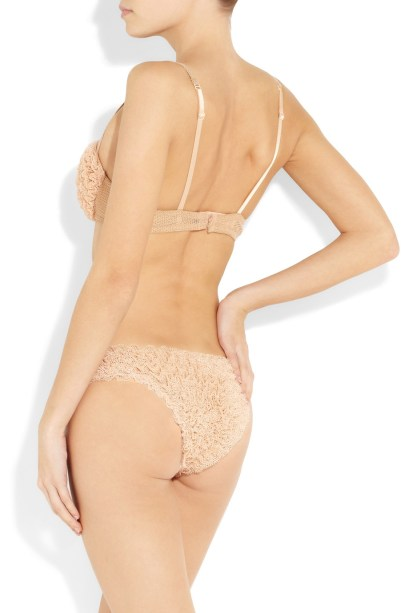 Jean Paul Gaultier for La Perla Frou Frou tulle bra and briefs