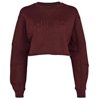 Rihanna for River Island burgundy G4Life sweatshirt