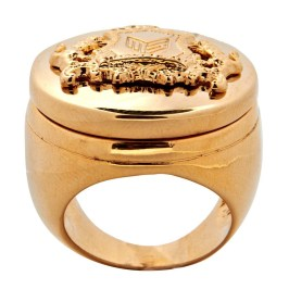 Melody Ehsani ME crest ring