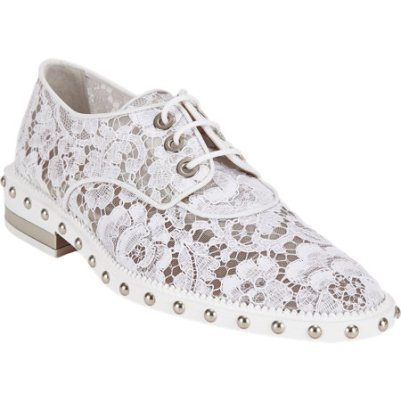 Givenchy lace macramé oxfords