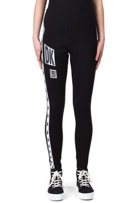 DKNY for Opening Ceremony logo leggings