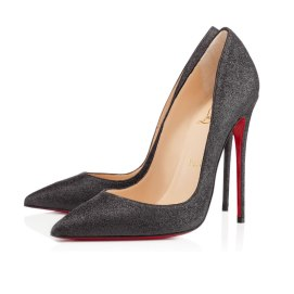 Christian Louboutin So Kate glitter pumps
