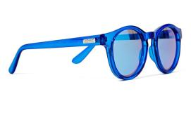 Le Specs Hey Macarena blue sunglasses