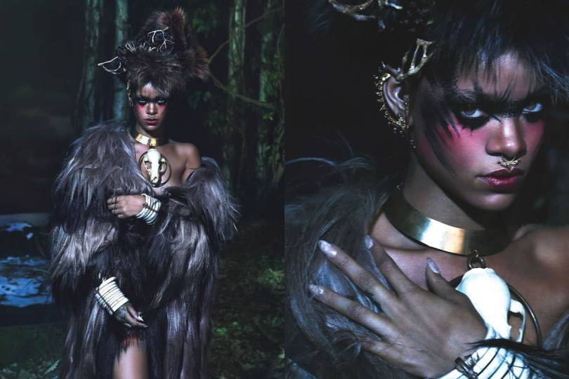 Rihanna in W Magazine September 2014