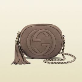 Gucci Soho handbag in taupe