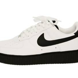 Mr Completely Creepy AF-1 shoes in white/black as seen on Rihanna
