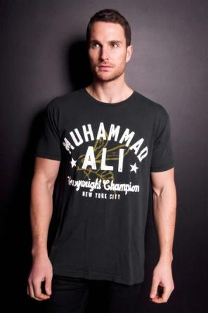 Roots of Fight Muhammad Ali 1974 t-shirt as seen on Rihanna