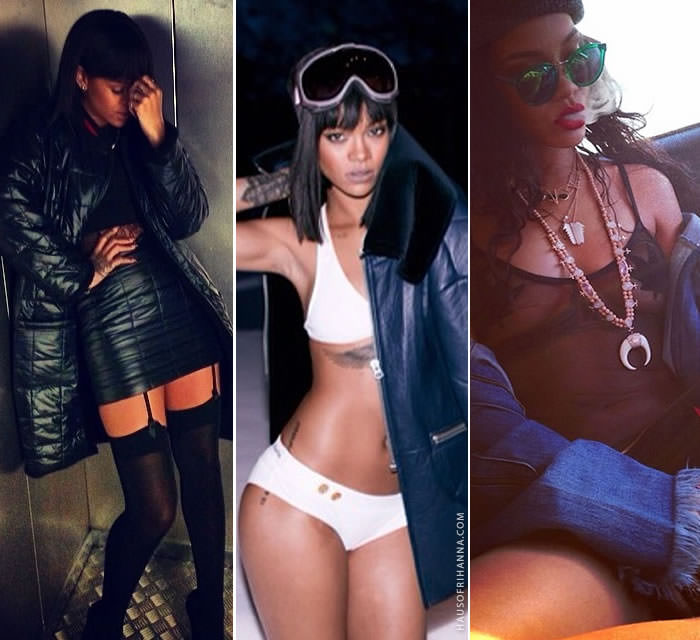Rihanna's best Instagram looks of 2014