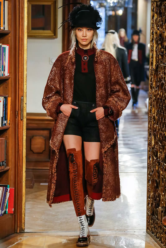 Chanel Pre-Fall 2015 as seen on Rihanna