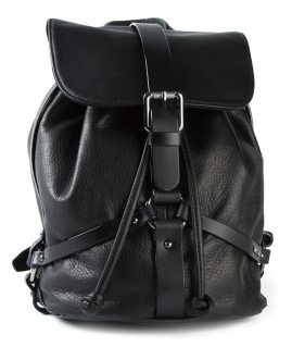 Diesel Karola leather backpack as seen on Rihanna