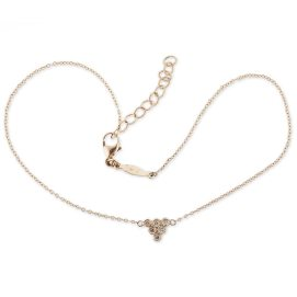 Jacquie Aiche diamond cluster anklet as seen on Rihanna