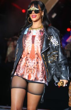 Rihanna at Hackney Festival