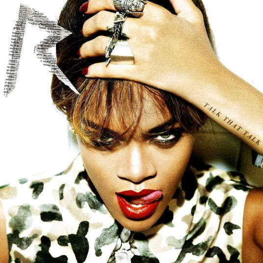 Rihanna Talk That Talk album cover