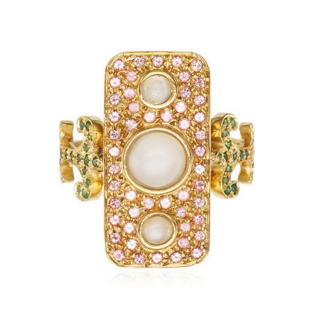 Sabine G Navona ring from the Prospero collection as seen on Rihanna