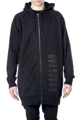 Trapstar heavy weight elongated hoodie as seen on Rihanna
