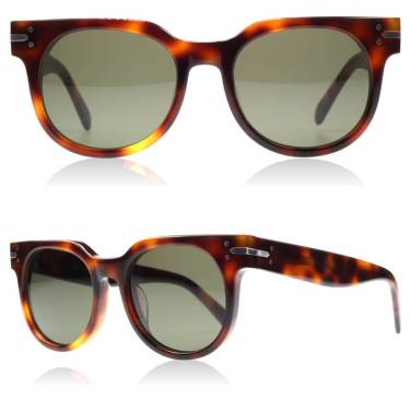Céline Frida havana brown sunglasses as seen on Rihanna