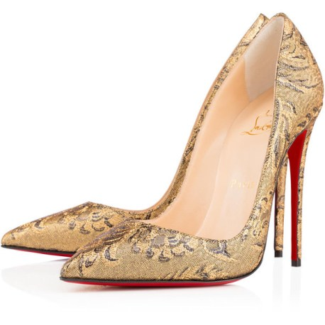 Christian Louboutin So Kate brocade pumps in Brocart