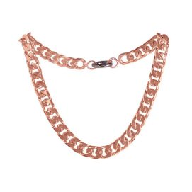 Maria Francesca Pepe rose gold Rihanna chain necklace