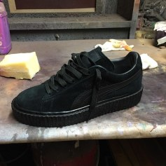 Mr Completely custom Puma Suede Classic creepers as seen on Rihanna