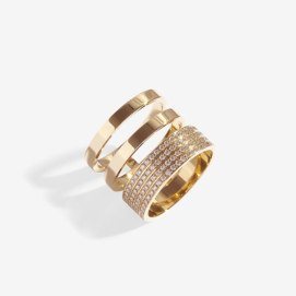 Repossi Berbère Module triple band ring as seen on Rihanna