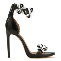Azzedine Alaia leather cut out sandals as seen on Rihanna