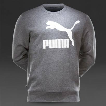 Puma No. 1 large logo crew sweatshirt as seen on Rihanna