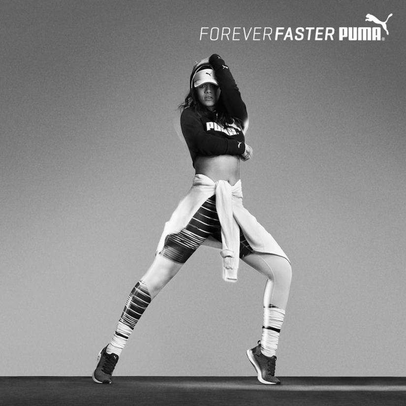 Rihanna in Puma Pulse XT first official ad campaign
